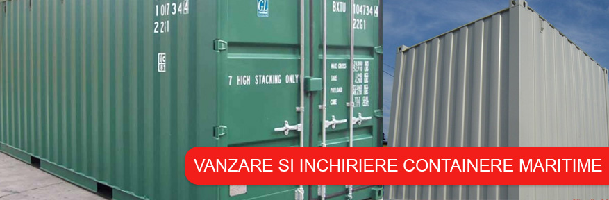 Container 8 feet dry box maritim